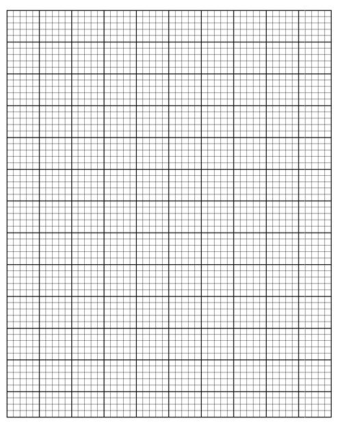 """Black Cross-stitch 4 Lines Per Division Graph Paper Template"" Download Pdf"