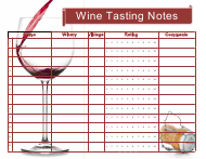 """Wine Tasting Notes Template"""