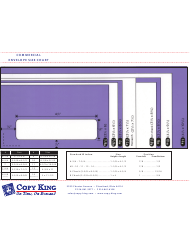 Commercial Envelope Size Chart - Copy King