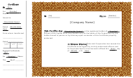 "Sample ""Stock Share Certificate Template"""