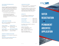 Hawaii Voter Registration & Permanent Absentee Application - Hawaii