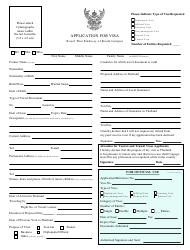 page_1_thumb Vietnam Emby Visa Application Form China To Print Out on