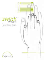 Hand-Sizing Chart - Switch Mouse
