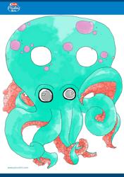 """Octopus Mask Template"""