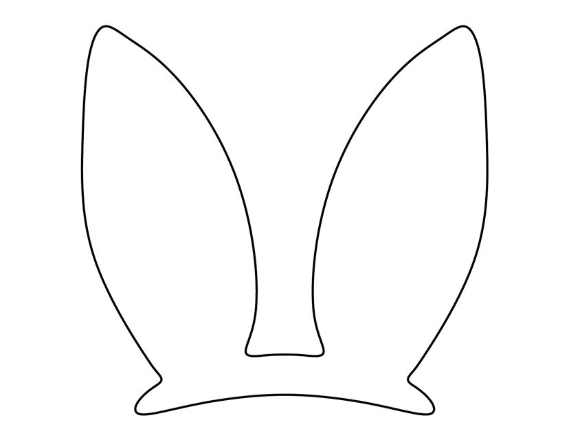 Easter bunny ears template download printable pdf templateroller easter bunny ears template download pdf maxwellsz