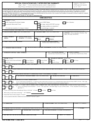 DD Form 2792-1 Special Education/Early Intervention Summary, Page 2