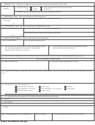 DA Form 918 Application for Establishment of an Army Senior Reserve Officers' Training Corps Unit, Page 2