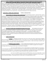 DA Form 597-3 Army Senior Reserve Officers' Training Corps (Rotc) Scholarship Cadet Contract, Page 4