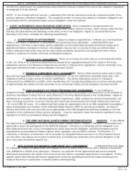 DA Form 597-3 Army Senior Reserve Officers' Training Corps (Rotc) Scholarship Cadet Contract, Page 5