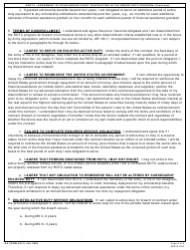 DA Form 597-3 Army Senior Reserve Officers' Training Corps (Rotc) Scholarship Cadet Contract, Page 6