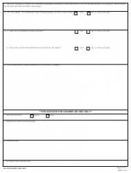 DA Form 8000 Asap Triage Instrument (For Unscheduled Patients), Page 2