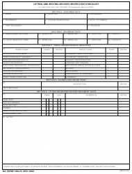 DA Form 7484-r Lifting and Moving Devices Sys Inspection Checklist