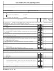 DA Form 7437-r Food Establishment Risk Assessment Survey