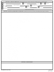 DA Form 7510 EEO Counselor's Report, Page 2