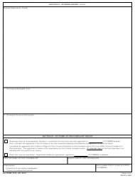 DA Form 7510 EEO Counselor's Report, Page 5