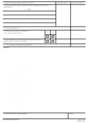 DA Form 5425 Applicant/Nominee Personal Financial Statement, Page 3