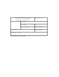 DA Form 2677-r United States Army Civilian Internee Identity Card