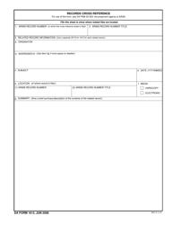 DA Form 1613  Fillable Pdf