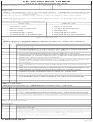DA Form 5440-56 Delineation of Clinical Privileges - Blood Services