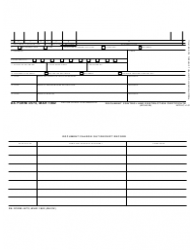DA Form 4573 Document Control and Destruction Certificate
