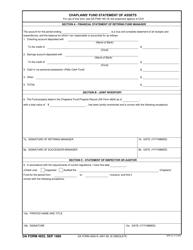 DA Form 4925  Fillable Pdf
