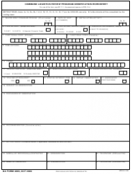 DA Form 4965 Command Logistics Review Program Observation Worksheet