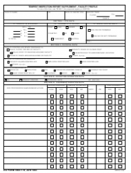 DA Form 4664-1-r Tempest Inspection Report Supplement - Facility Profile