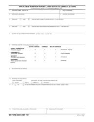 DA Form 5000-r  Fillable Pdf