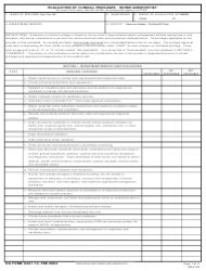 DA Form 5441-14 Evaluation of Clinical Privileges - Nurse Anesthetist