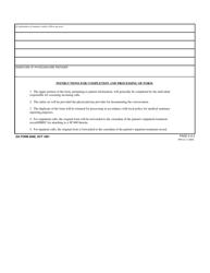"DA Form 5008 ""Telephone Medical Advice/Consultation Record"", Page 2"