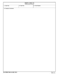 DA Form 7595-2-9 Insert a King Lt, Page 2