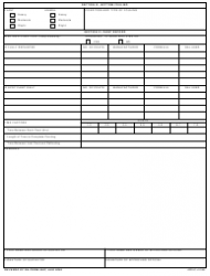 DA Form 5587 Report of Drydocking, Painting and Condition of Vessel Bottom, Page 2