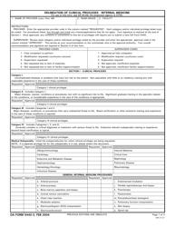 DA Form 5440-3 Delineation of Clinical Privileges -internal Medicine
