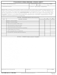 DA Form 5441-21 Evaluation of Clinical Privileges - Physical Therapy