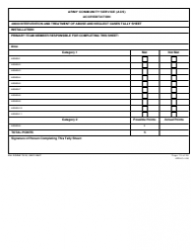 DA Form 7513 Army Community Service (Acs) Accreditation Score Sheet, Page 15