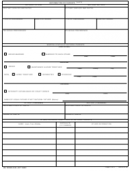 DA Form 5192 Family Identification Sheet for a Child Receiving Service, Page 2