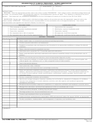 DA Form 5440-14 Delineation of Clinical Privileges-Nurse Anesthetists