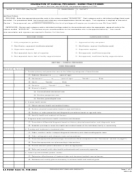DA Form 5440-16 Delineation of Clinical Privileges - Nurse Practitioner