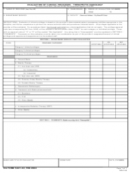 DA Form 5441-40 Evaluation Of Clinical Privileges - Therapeutic Radiology