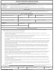 DA Form 5669 Preventive Medicine Counseling Record