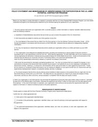 DA Form 5678-R  Fillable Pdf