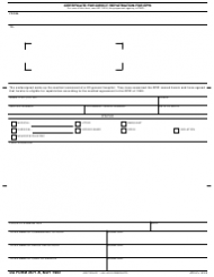 DA Form 2671-R Certificate of Direct Repatriation for Epw