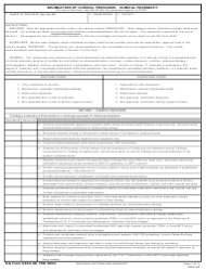 DA Form 5440-38 Delineation of Clinical Privileges - Clinical Pharmacy