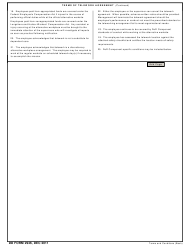Dd Form 2946 Download Fillable Pdf Telework Agreement Page 5 Of 6