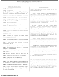 """DD Form 1423-2 """"Contract Data Requirements List (2 Data Items)"""", Page 2"""