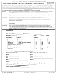 DD Form 2991  Fillable Pdf