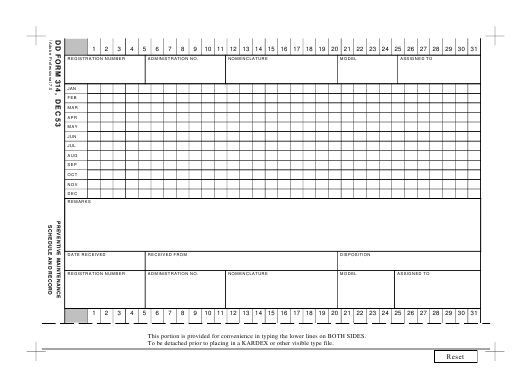 DD Form 314  Fillable Pdf
