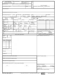 DD Form 282 DoD Printing Requisition/Order