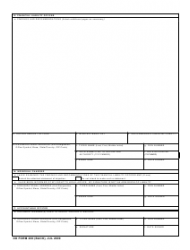 DD Form 200 Financial Liability Investigation of Property Loss, Page 2