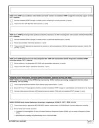 DA Form 7419-2 Exceptional Family Member Program (EFMP), Page 6